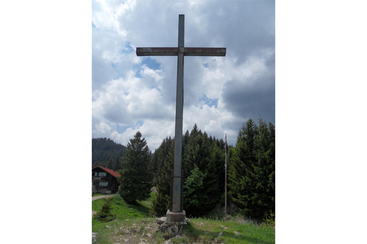 Höllschlucht Gipfelkreuz