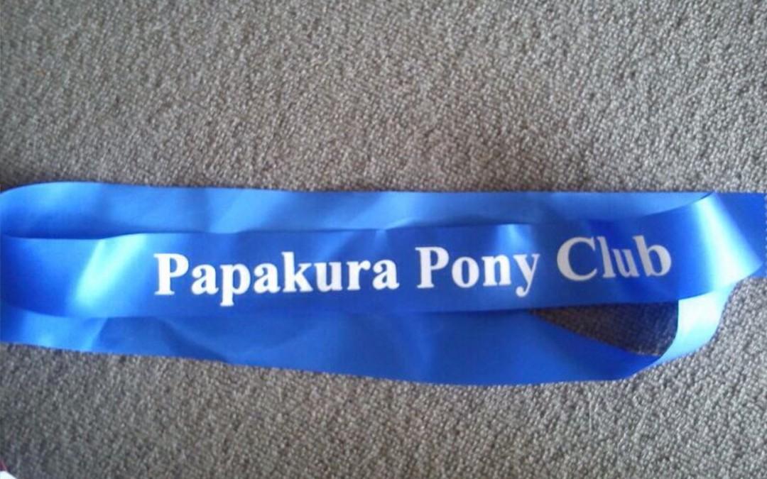 Geschützt: Papakura Pony Club – Showjumping